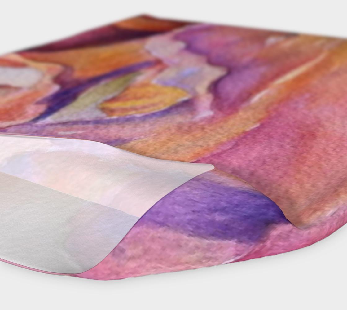 Pink Iris Petals Head Band preview #4