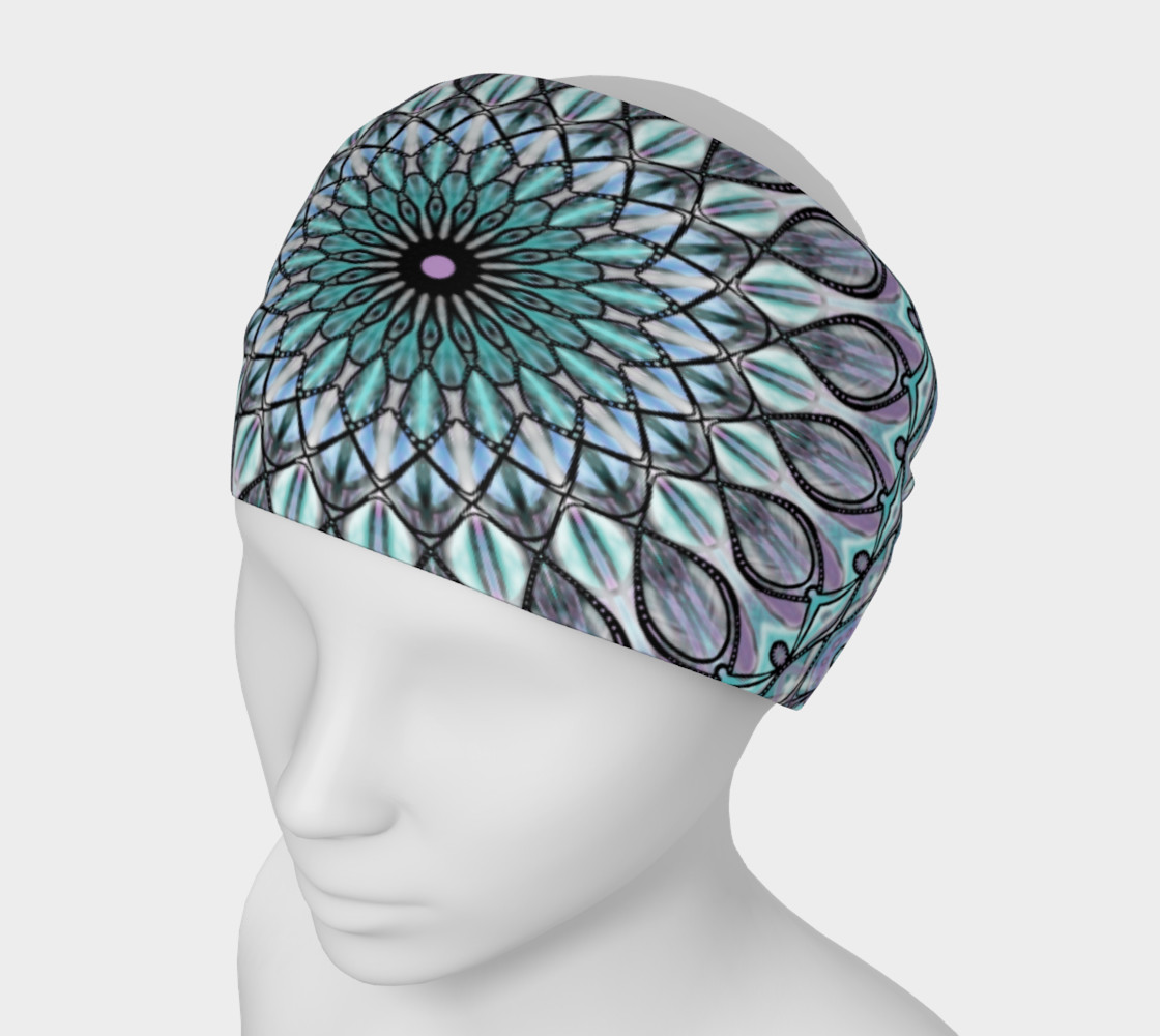 Aperçu de Crystal Palace Mandala Headband #1