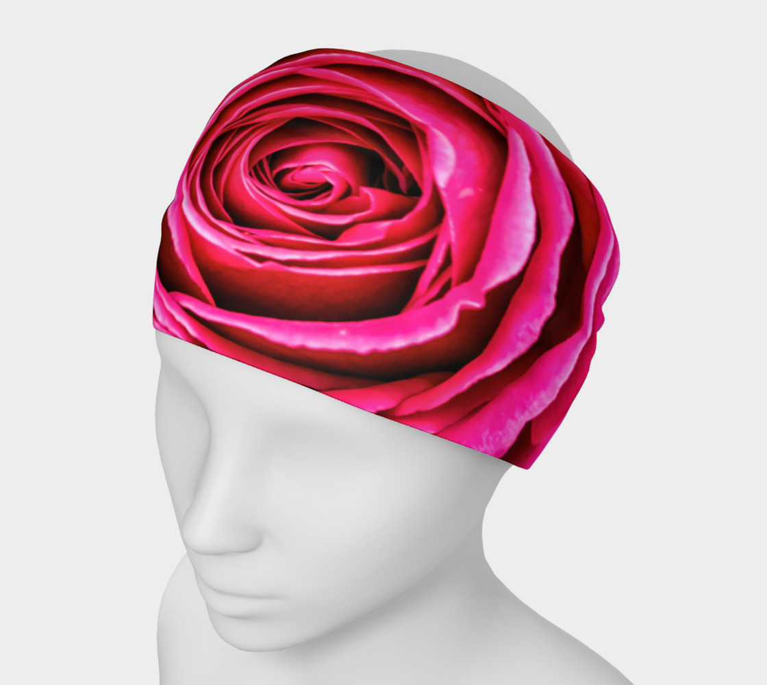 Aperçu de Hot Pink Rose Closeup #1