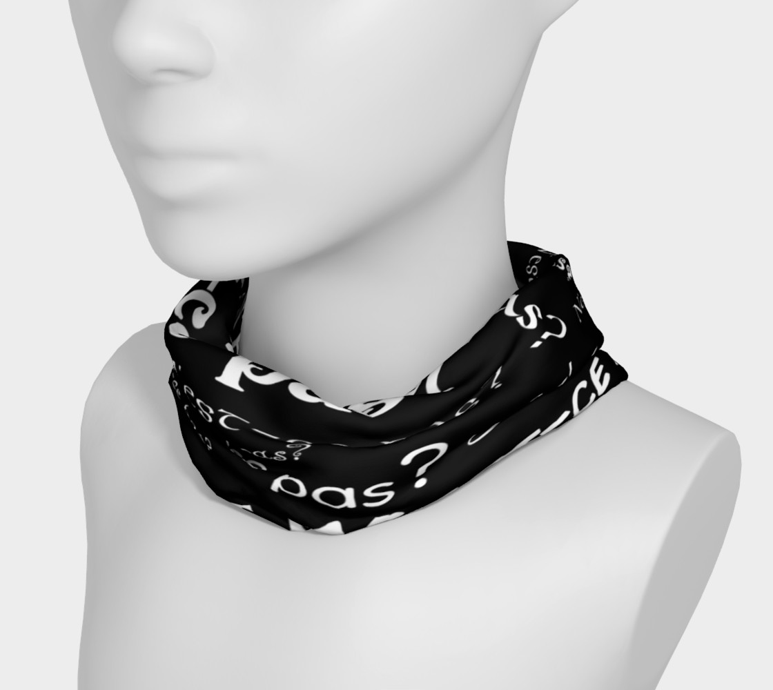 White N'est-ce Pas Headband preview #3