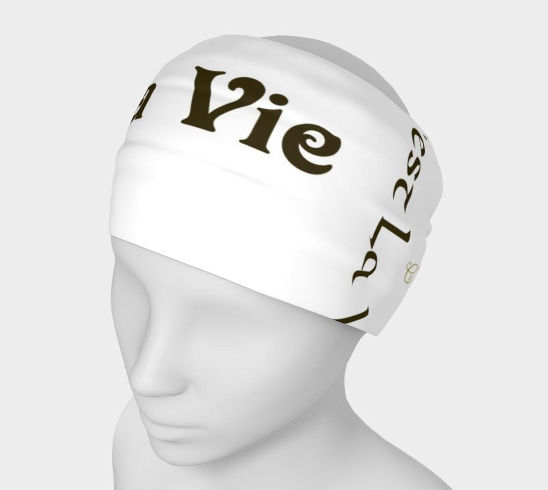 Mocha C'est la Vie Headband preview #1