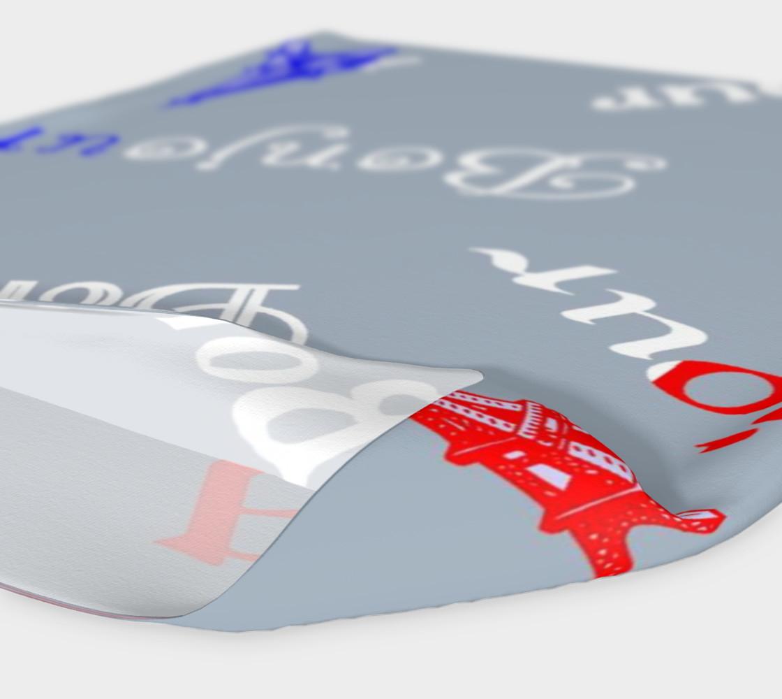 French Flag Bonjour Headband preview #4