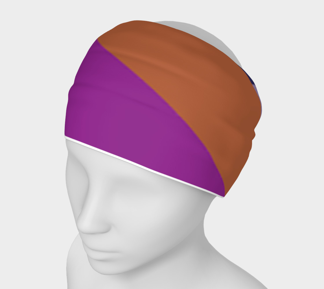 colour blocking head band preview #1