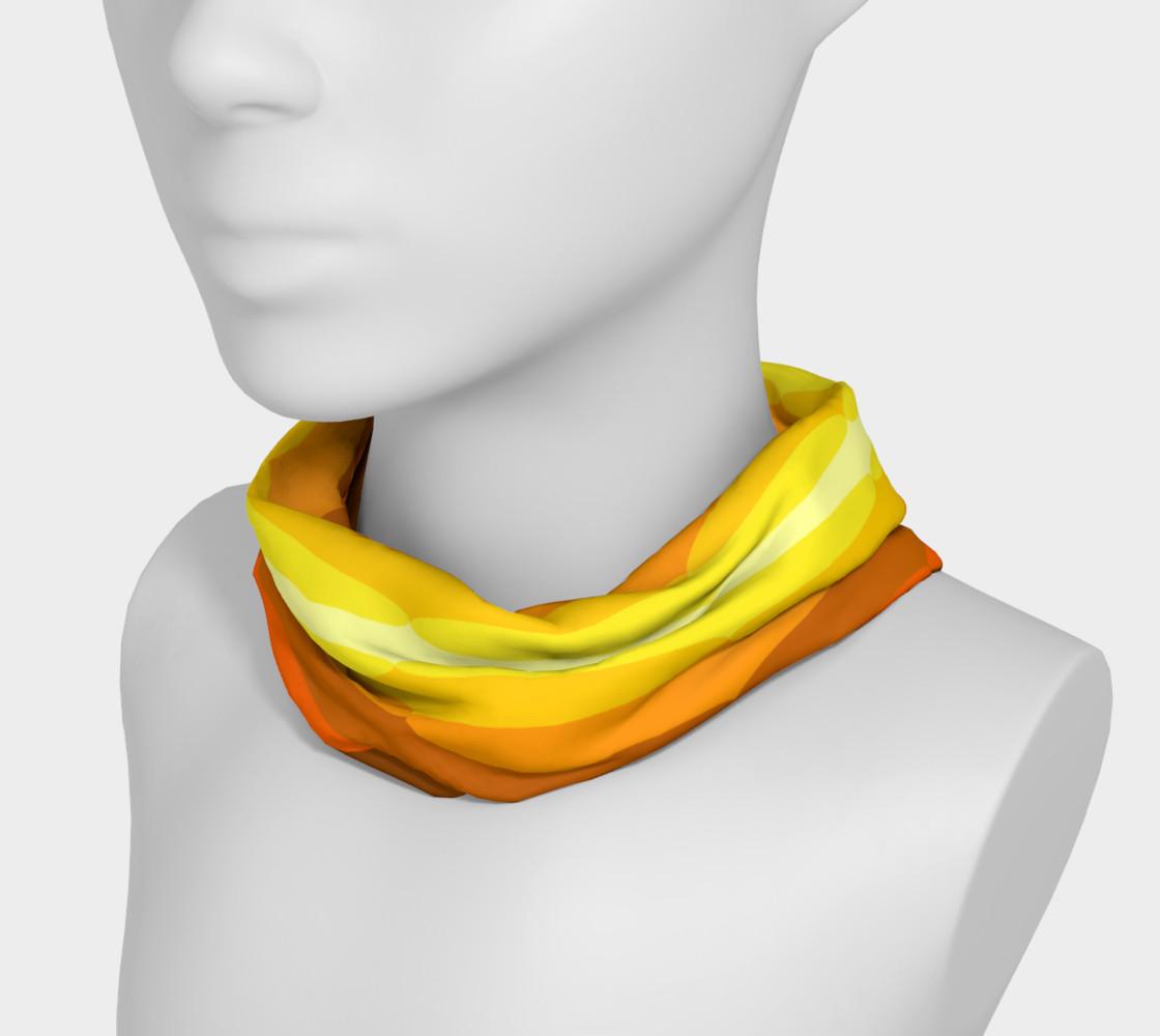 retro orange and browns headband preview #3
