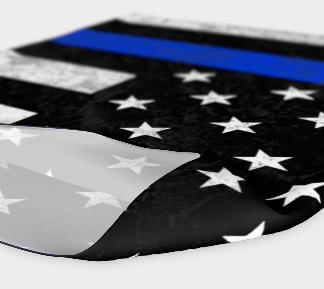 Thin Blue Line Flag Headband preview #4
