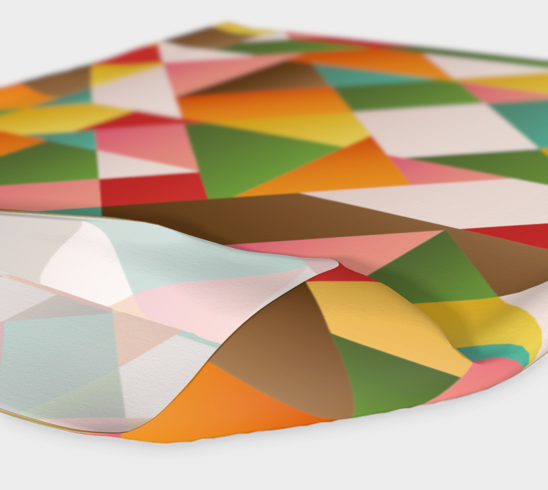 Funky geometric shapes head band preview #4