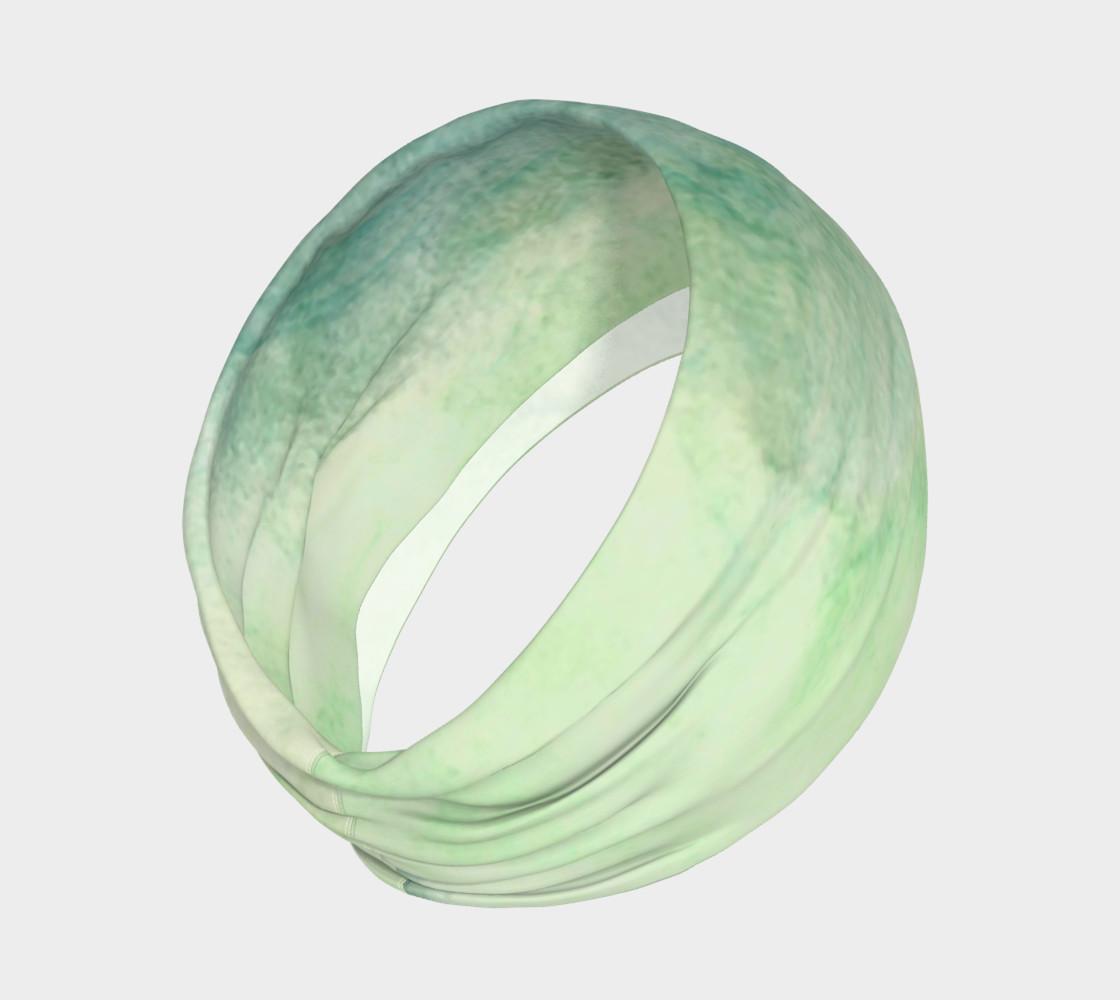 Green Dimension Flower Headband preview #2