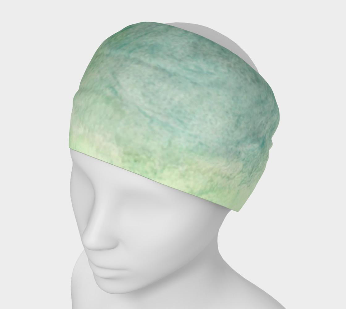 Green Dimension Flower Headband preview #1