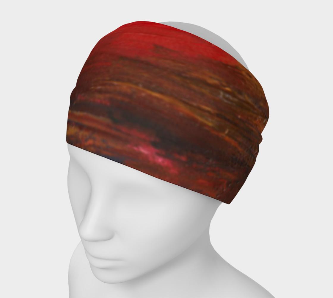 Crimson Ocean Headband preview #1