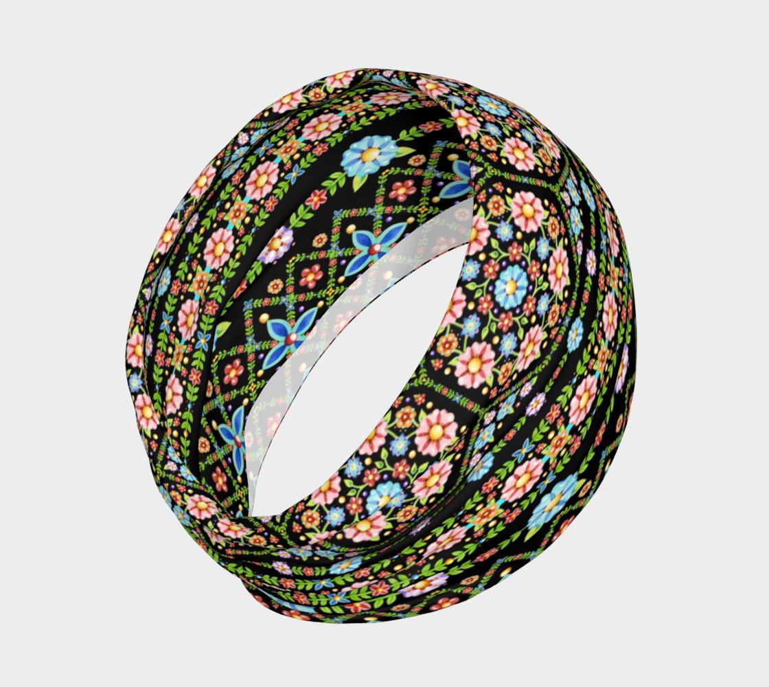 Millefiori Floral Stripe preview #2