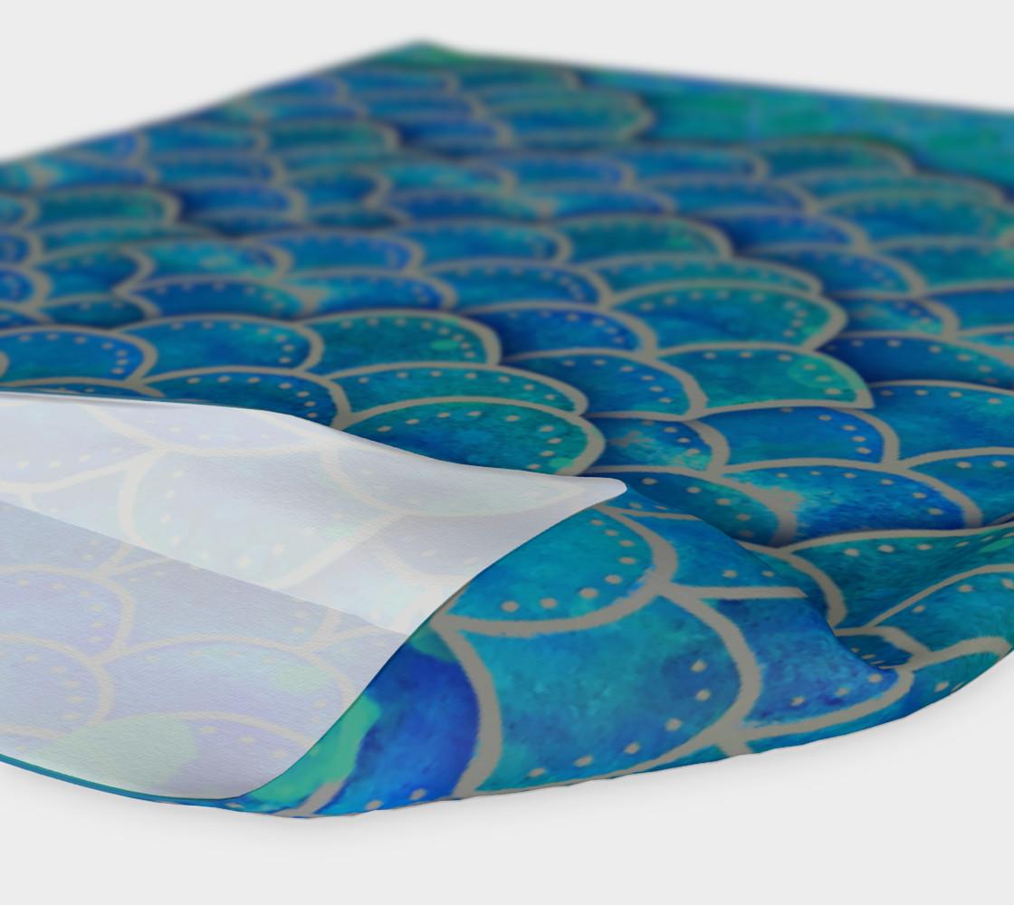 Mermaid Dragon Scales Headband preview #4
