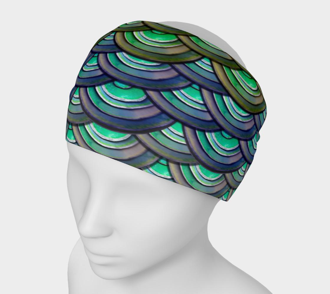 Mermaid Dragon Scale Headband preview #1