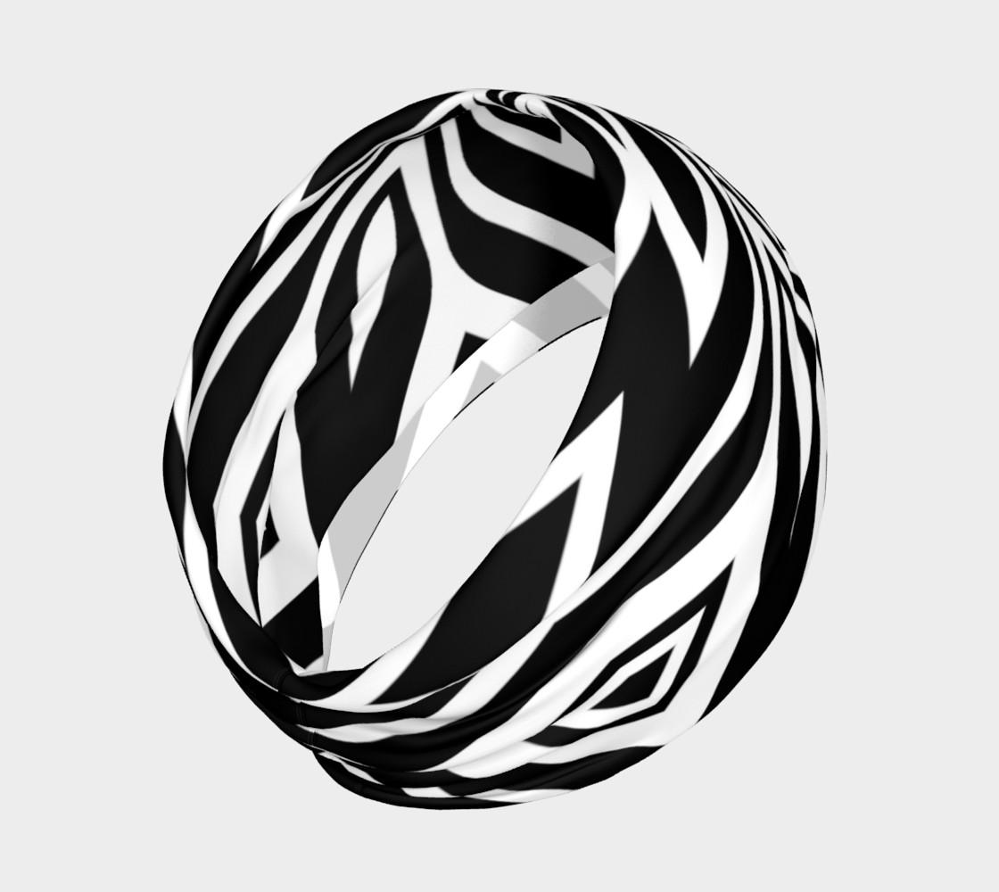 Funky Tribe Black+White Pattern V2 preview #2