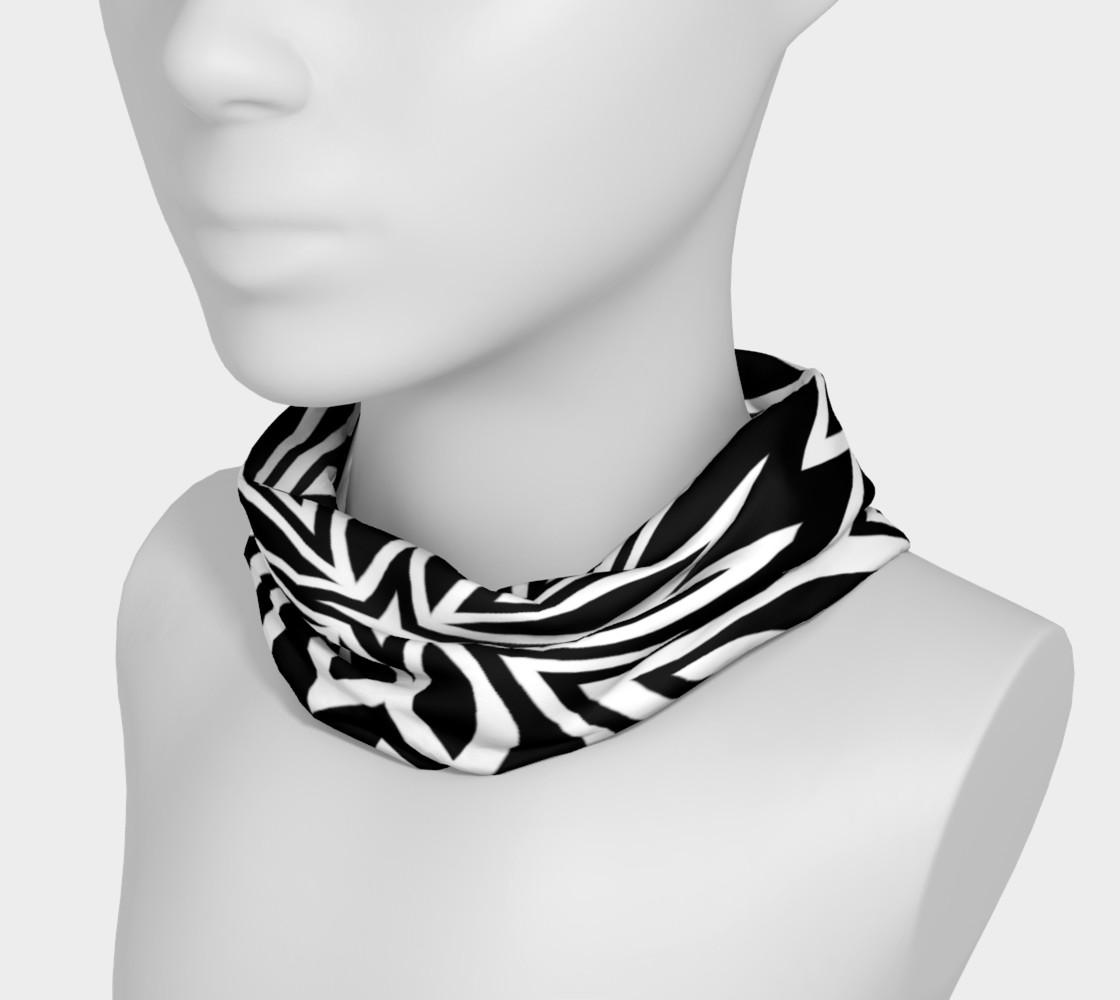Funky Tribe Black+White Pattern V2 preview #3