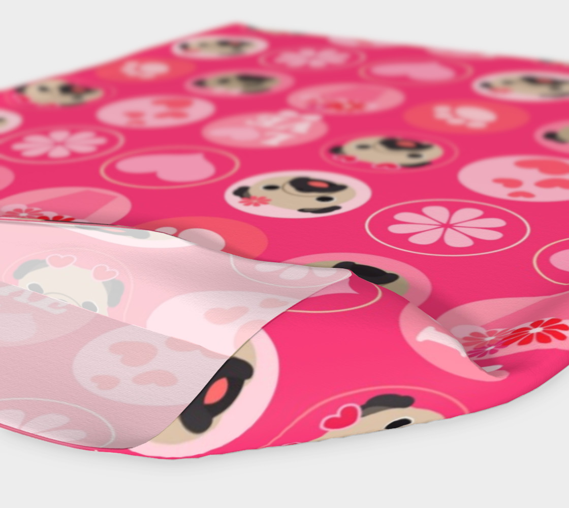 Valentine Pugs - Bright Pink  preview #4