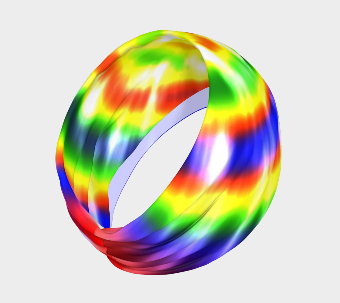 Aperçu de Retro Tie Dye Primary Colors #2