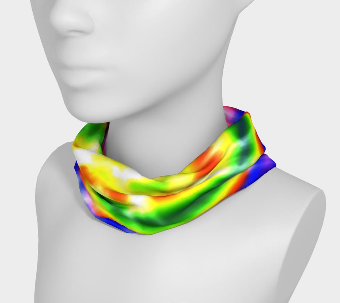Aperçu de Retro Tie Dye Primary Colors #3