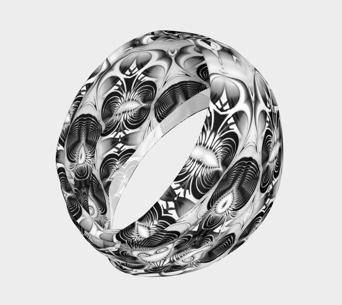 Black+White Tribal Weave Pattern V2 preview #2