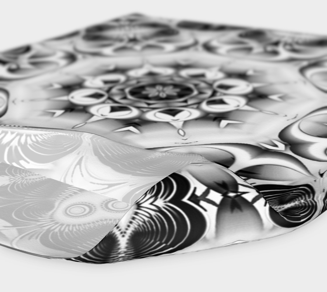 Black+White Tribal Weave Pattern V2 preview #4