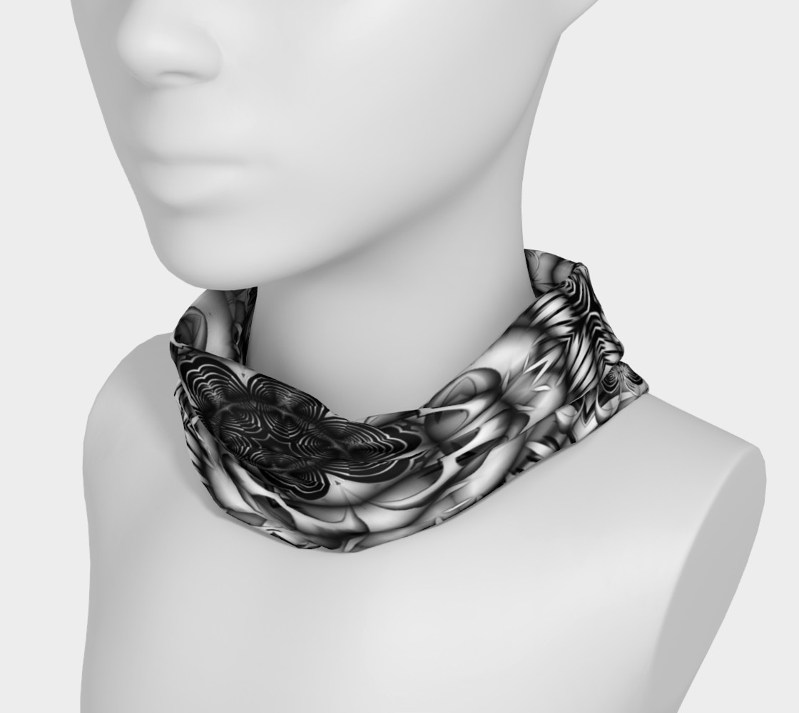 Black+White Tribal Weave Pattern V4 preview #3