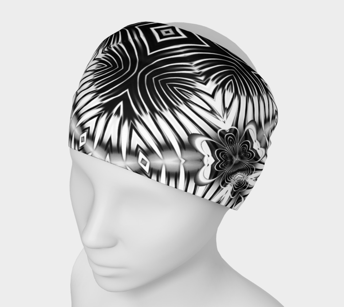Black+White Tribal Weave Pattern V6 preview #1