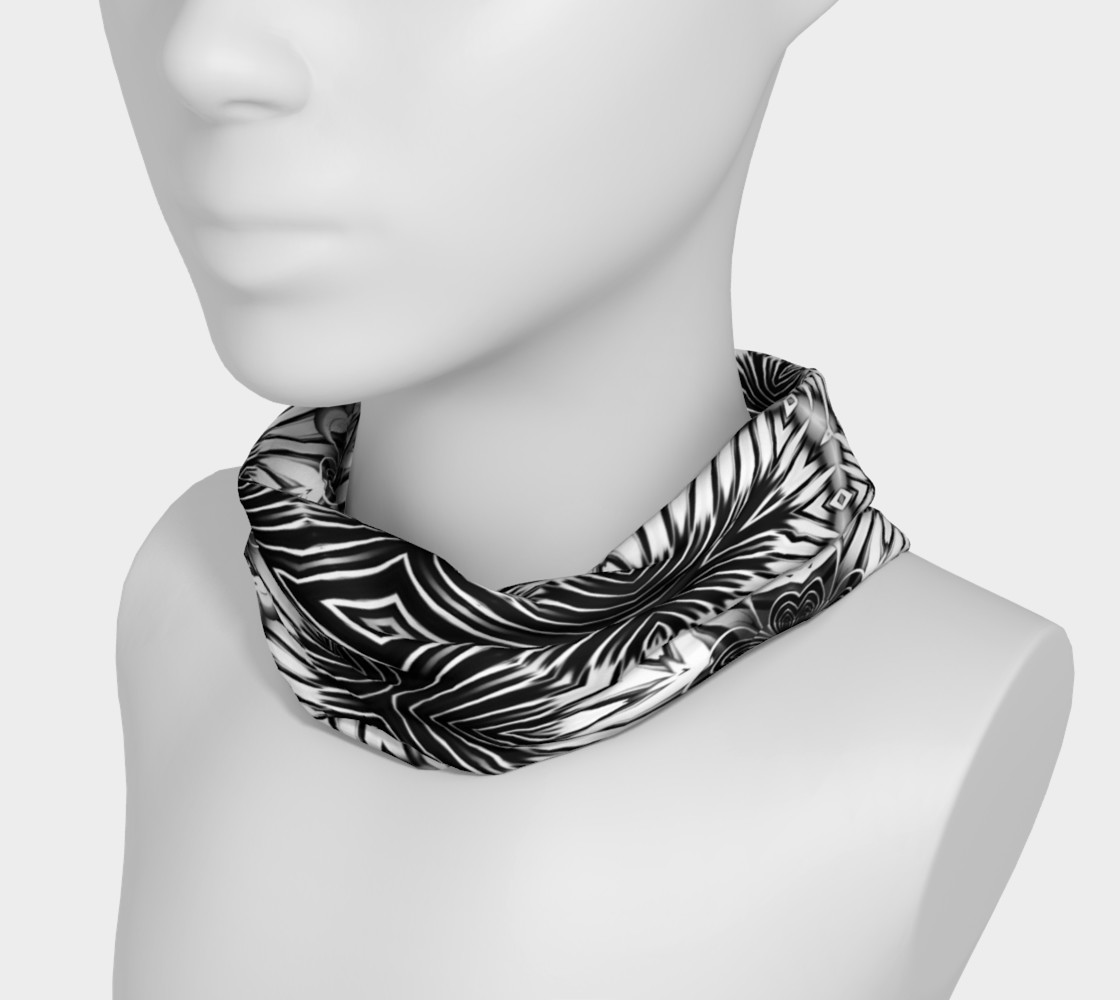 Black+White Tribal Weave Pattern V6 preview #3