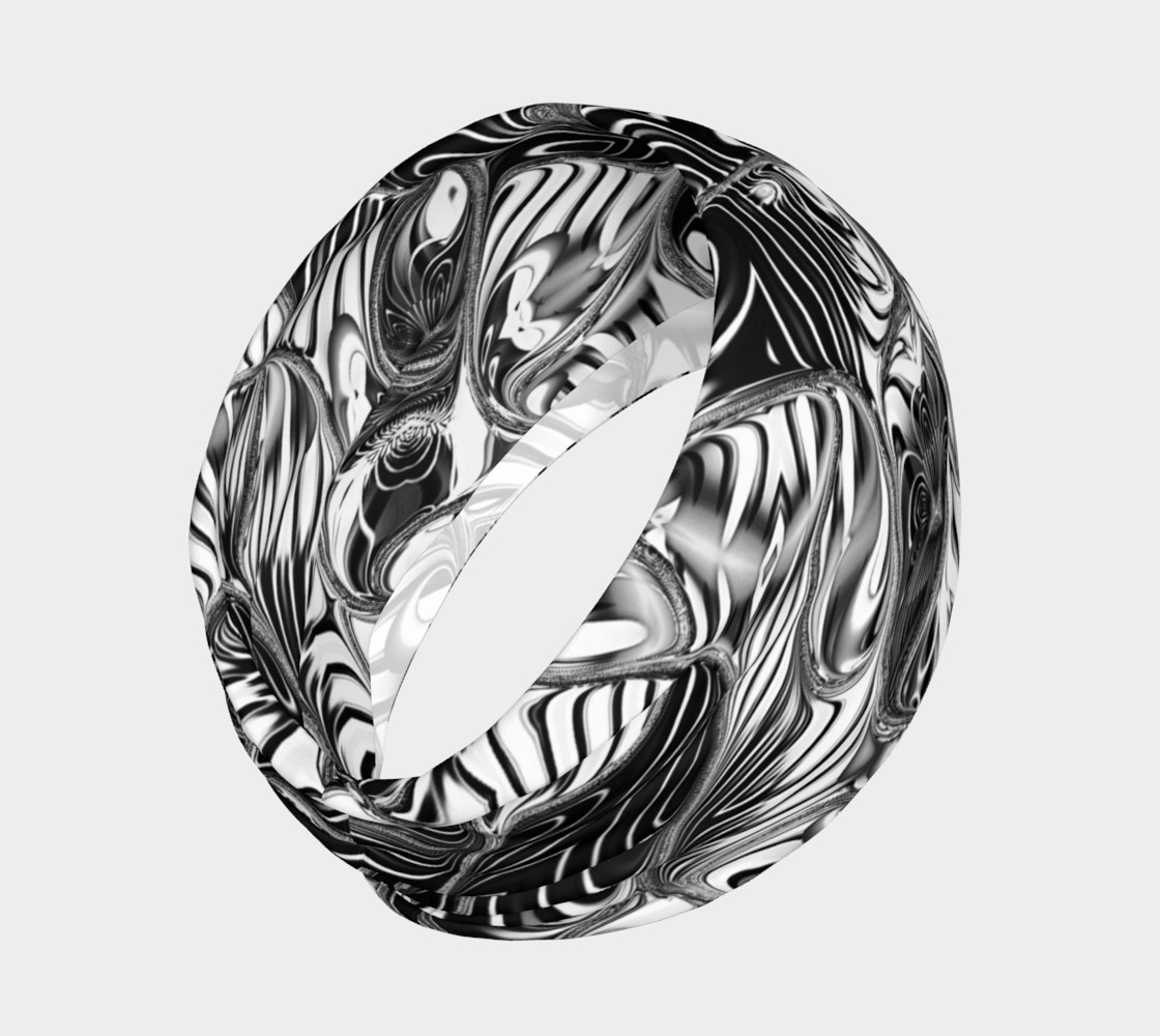 Black+White Tribal Weave Pattern V8 preview #2