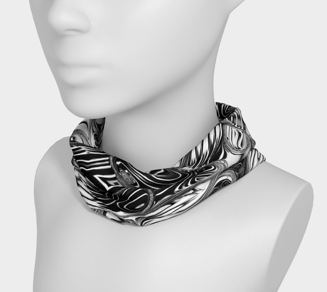 Black+White Tribal Weave Pattern V8 preview #3