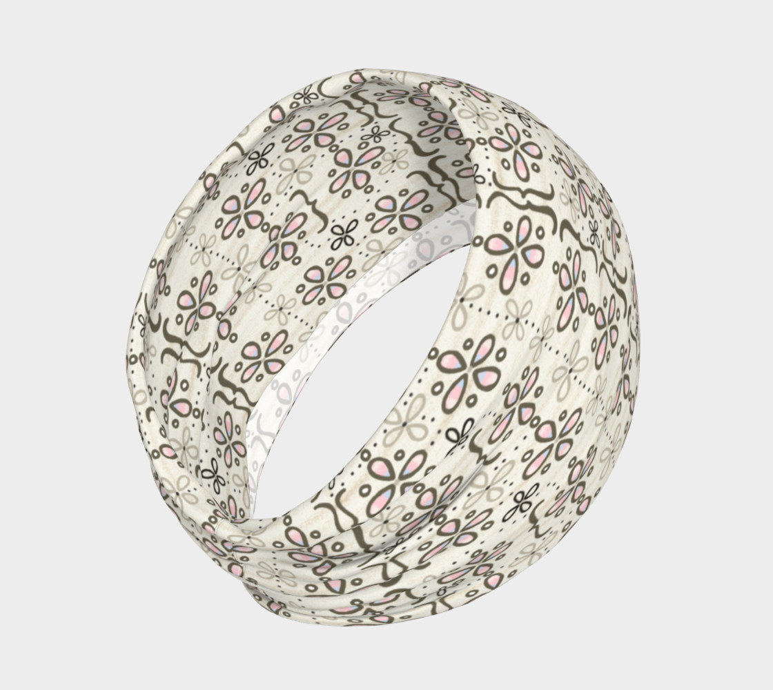 Mona's Dress Patterned Headband preview #2