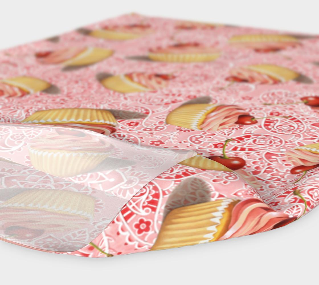 Aperçu de Pink Paisley Cupcakes #4