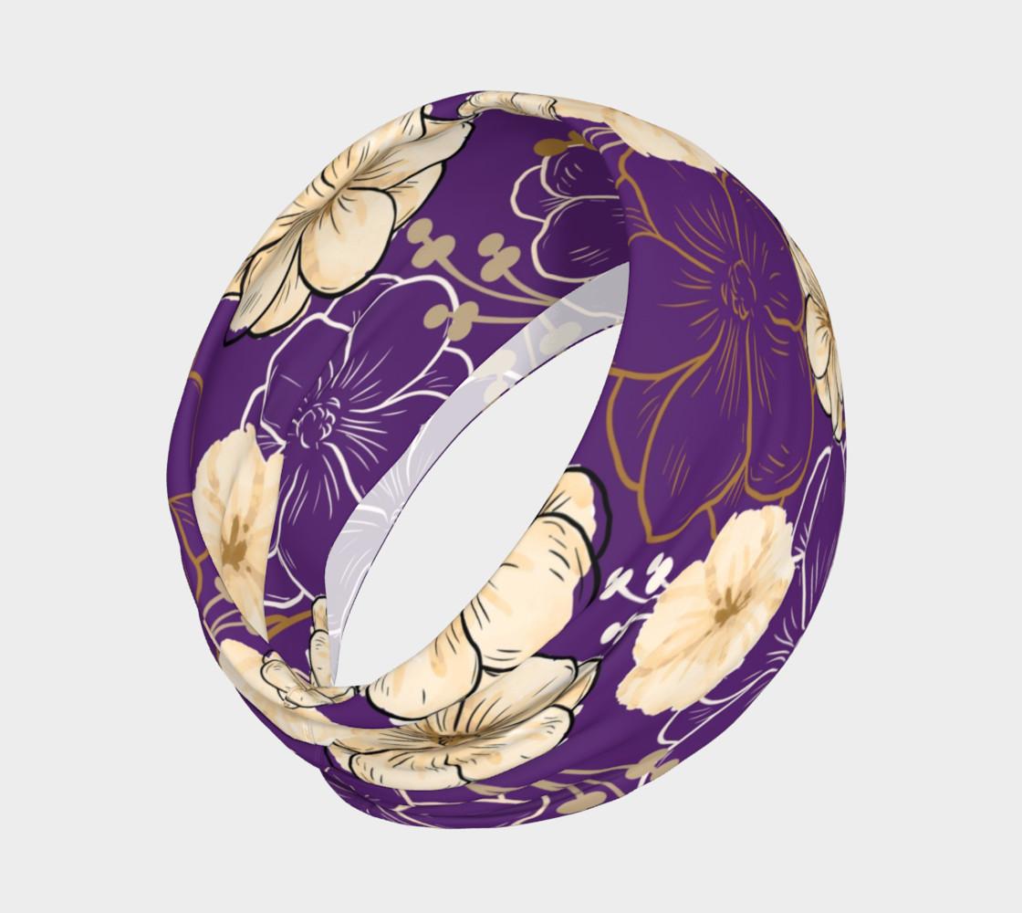 Aperçu de Floral Elegance - Purple #2