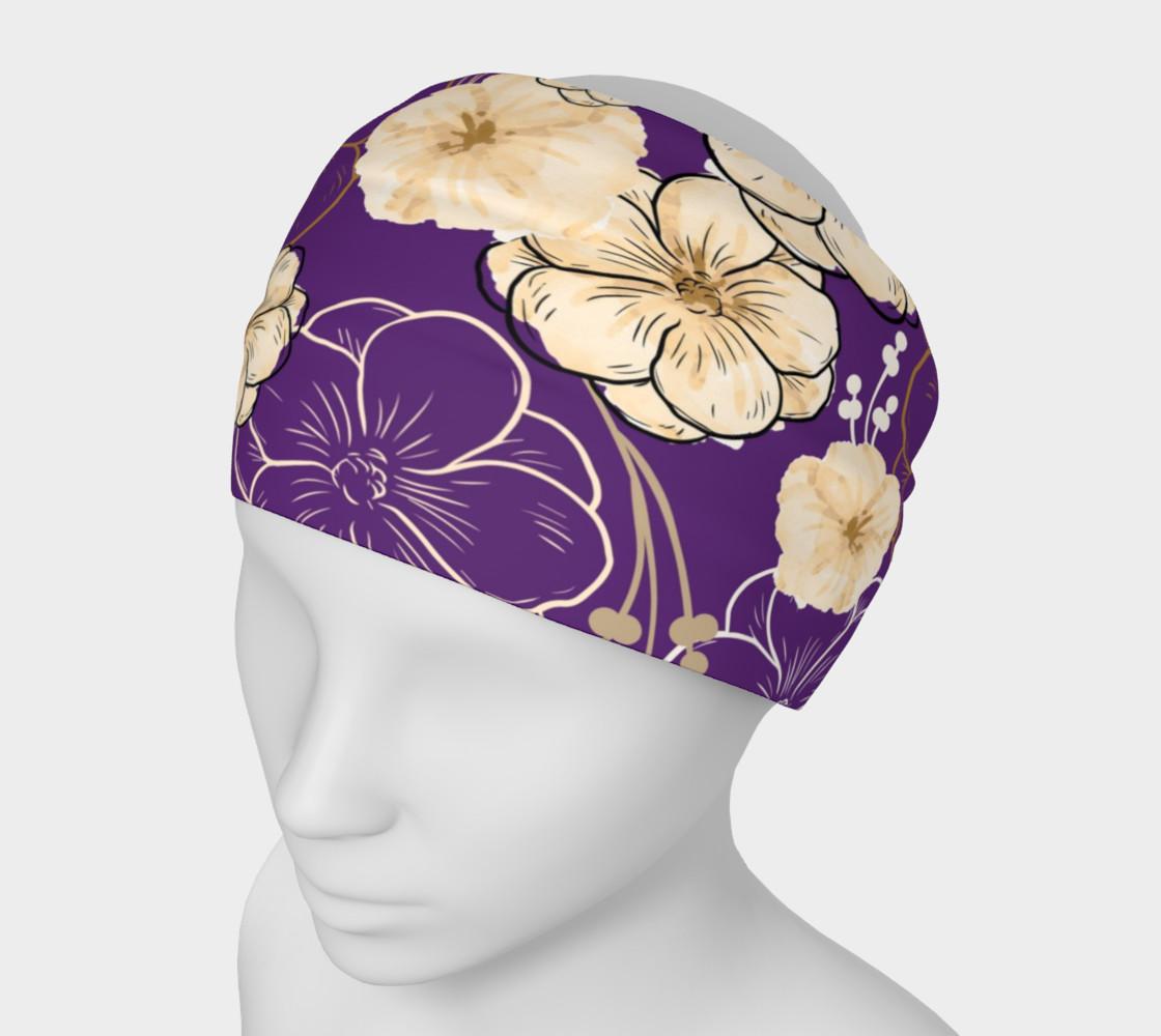 Aperçu de Floral Elegance - Purple #1