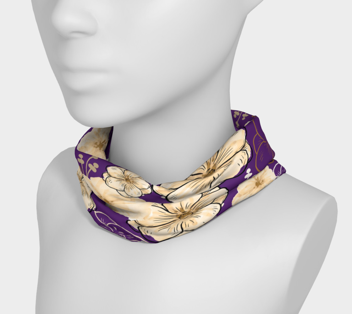 Aperçu de Floral Elegance - Purple #3
