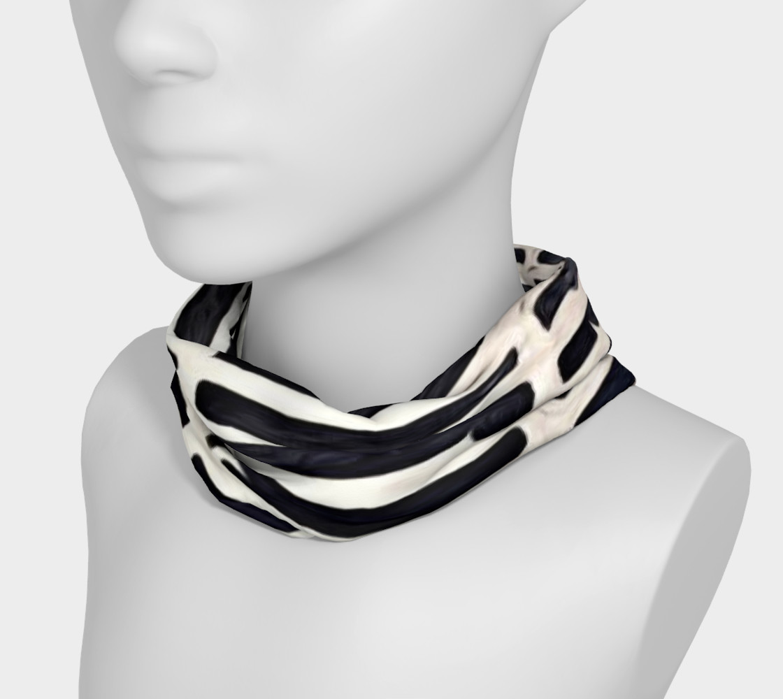 Aperçu de black and white head band #3