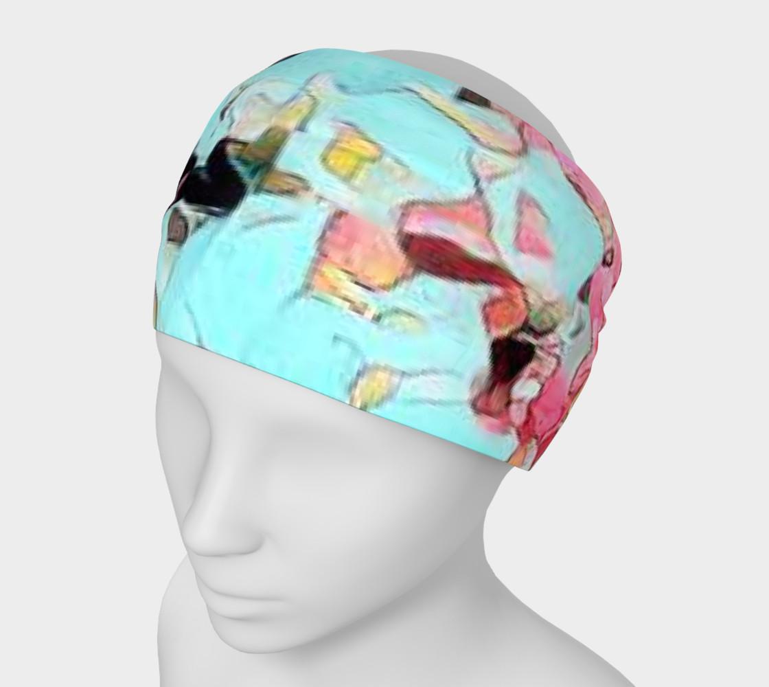 Aperçu de Blue pink headband #1