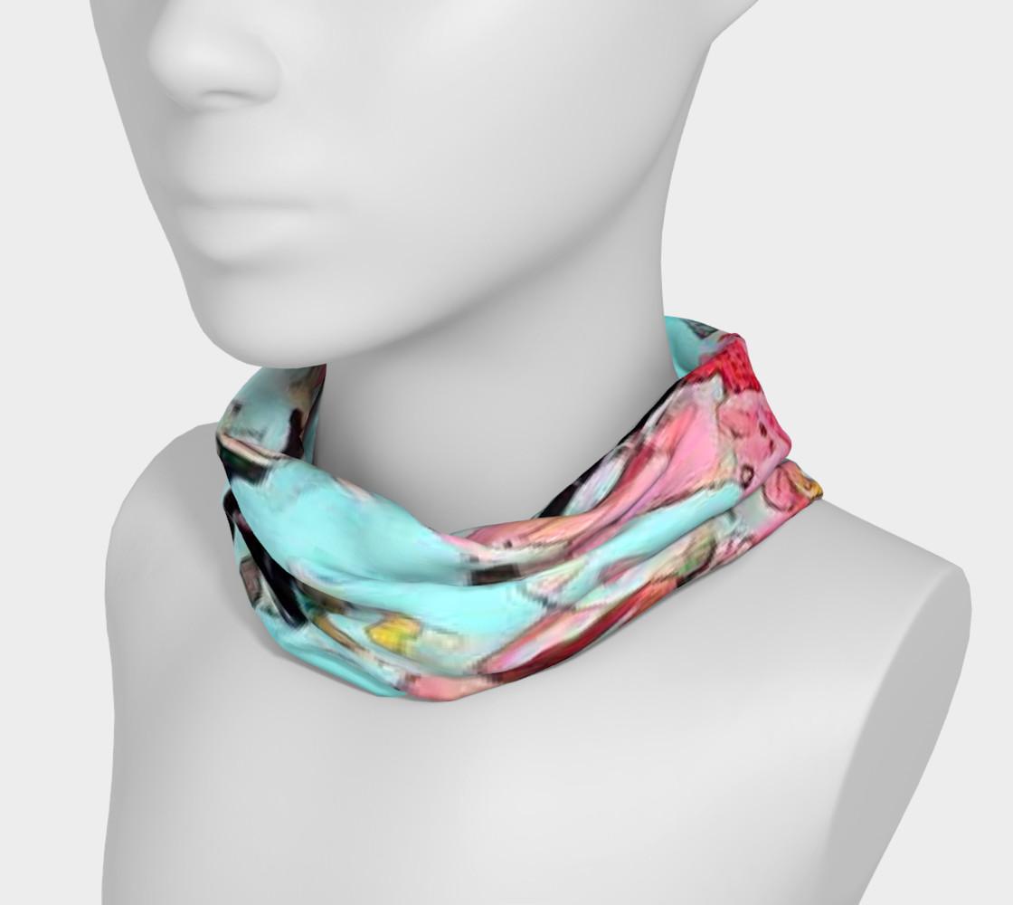 Aperçu de Blue pink headband #3