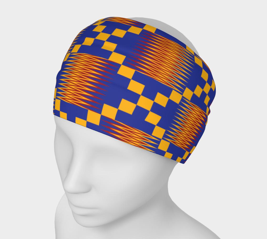 Aperçu de AfroPuff™ Khente Headband #1