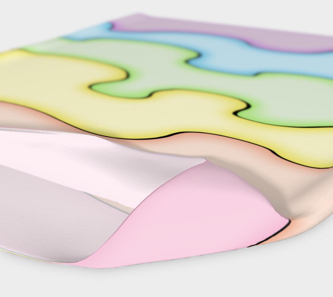 AfroPuff™ Pastel Drips Headband preview #4