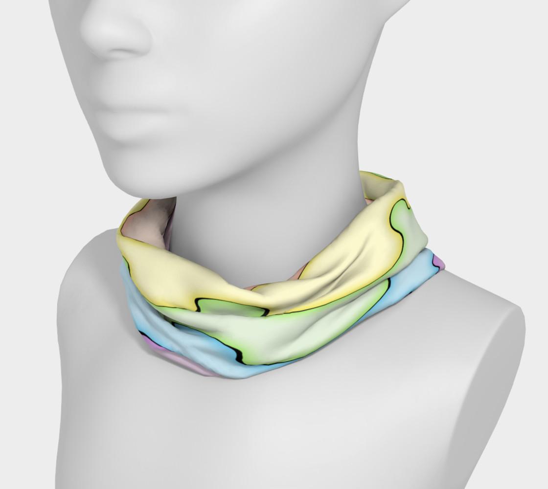 AfroPuff™ Pastel Drips Headband preview #3
