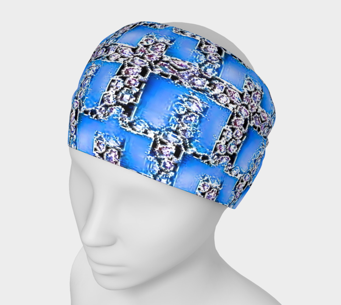 blue design head band preview #1