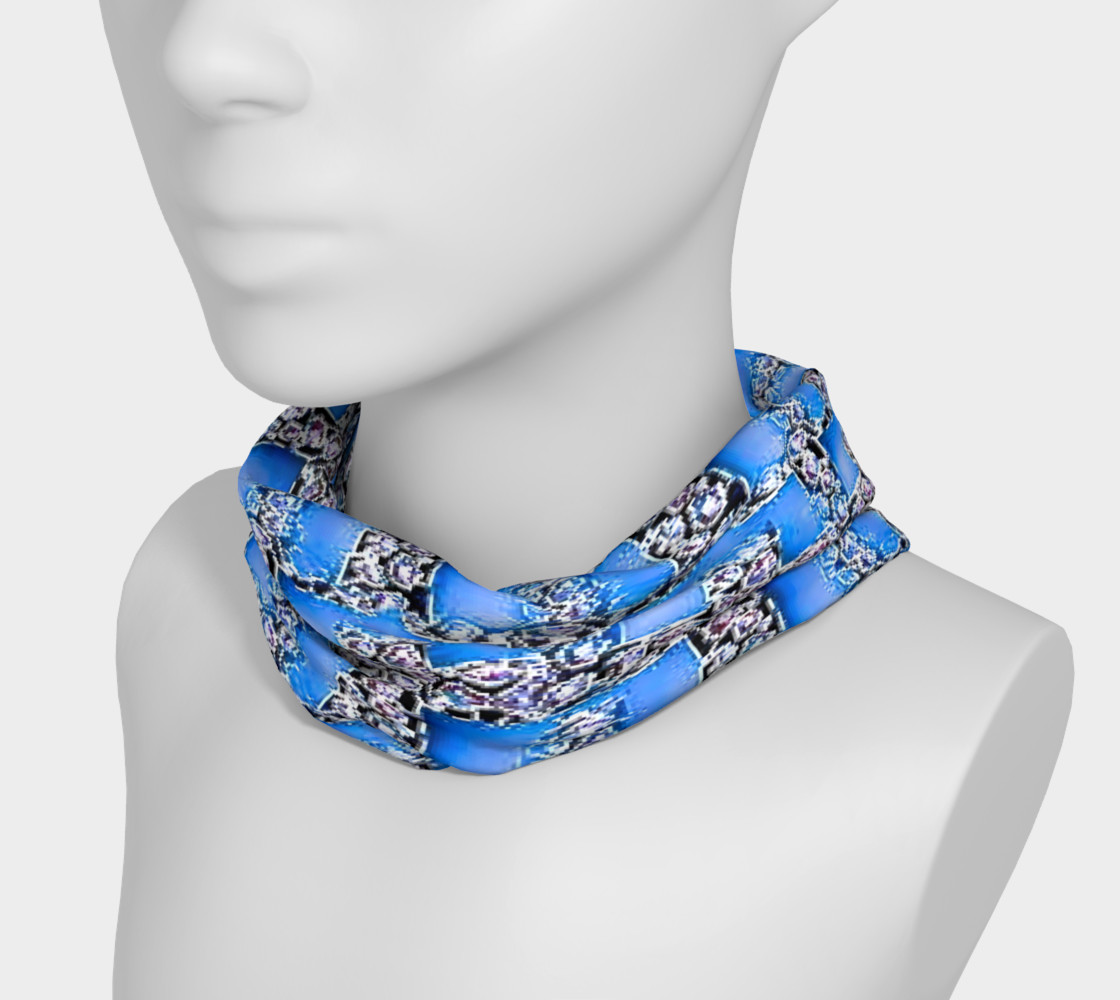 blue design head band preview #3