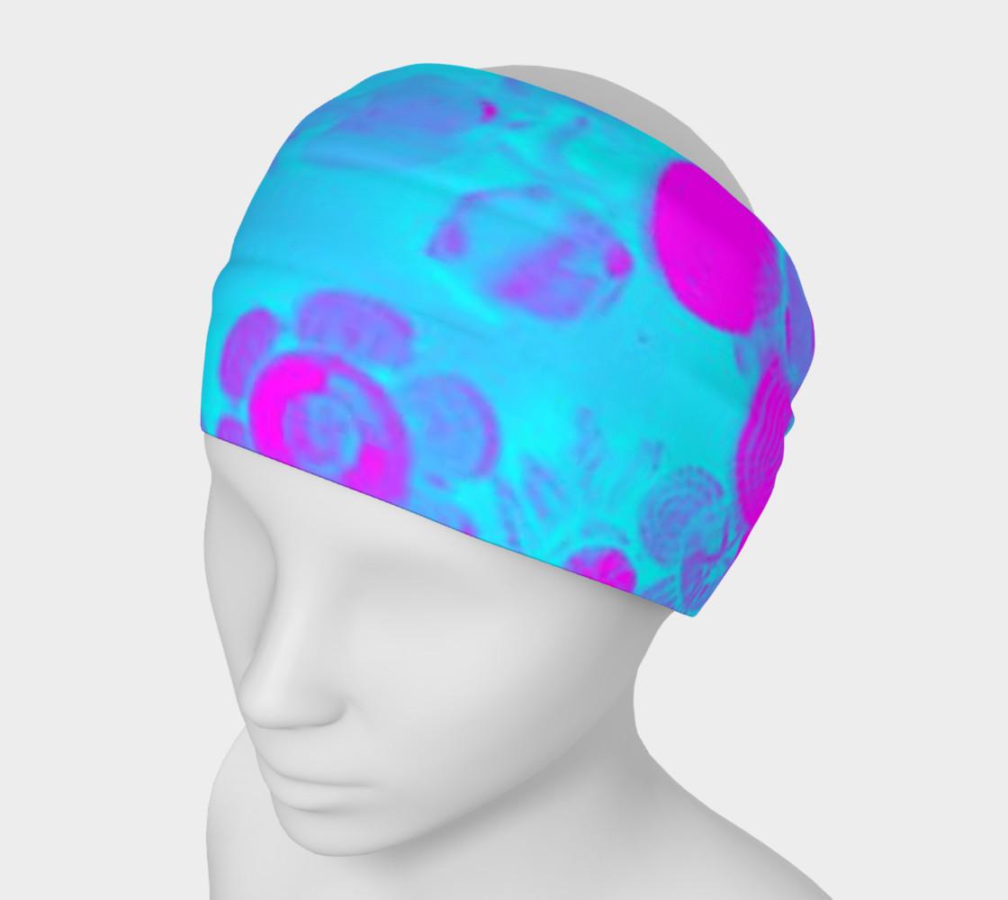 Aperçu de blue and pink head band #1