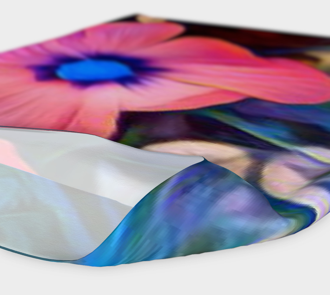 tropical flower headband preview #4
