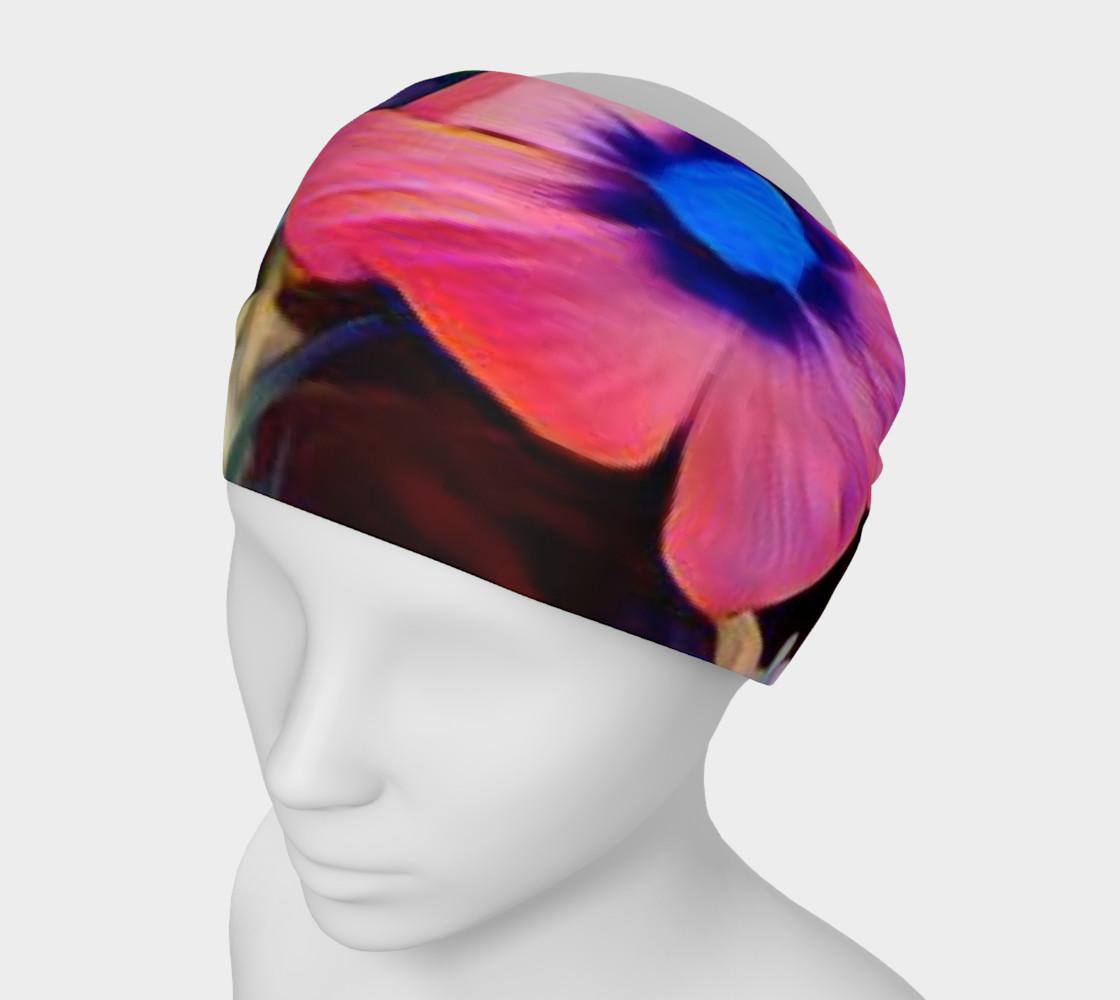 tropical flower headband preview #1