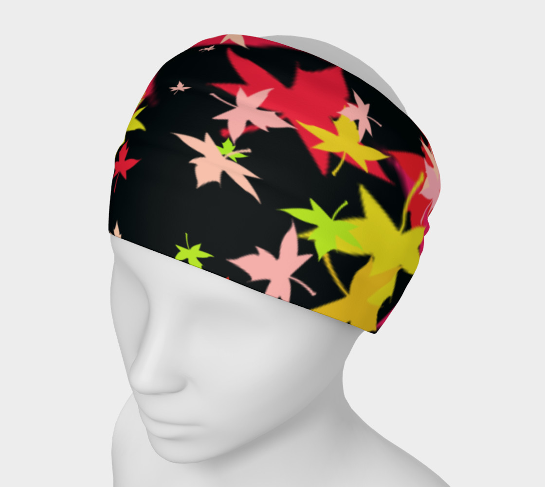 Leaf Print Headband preview #1