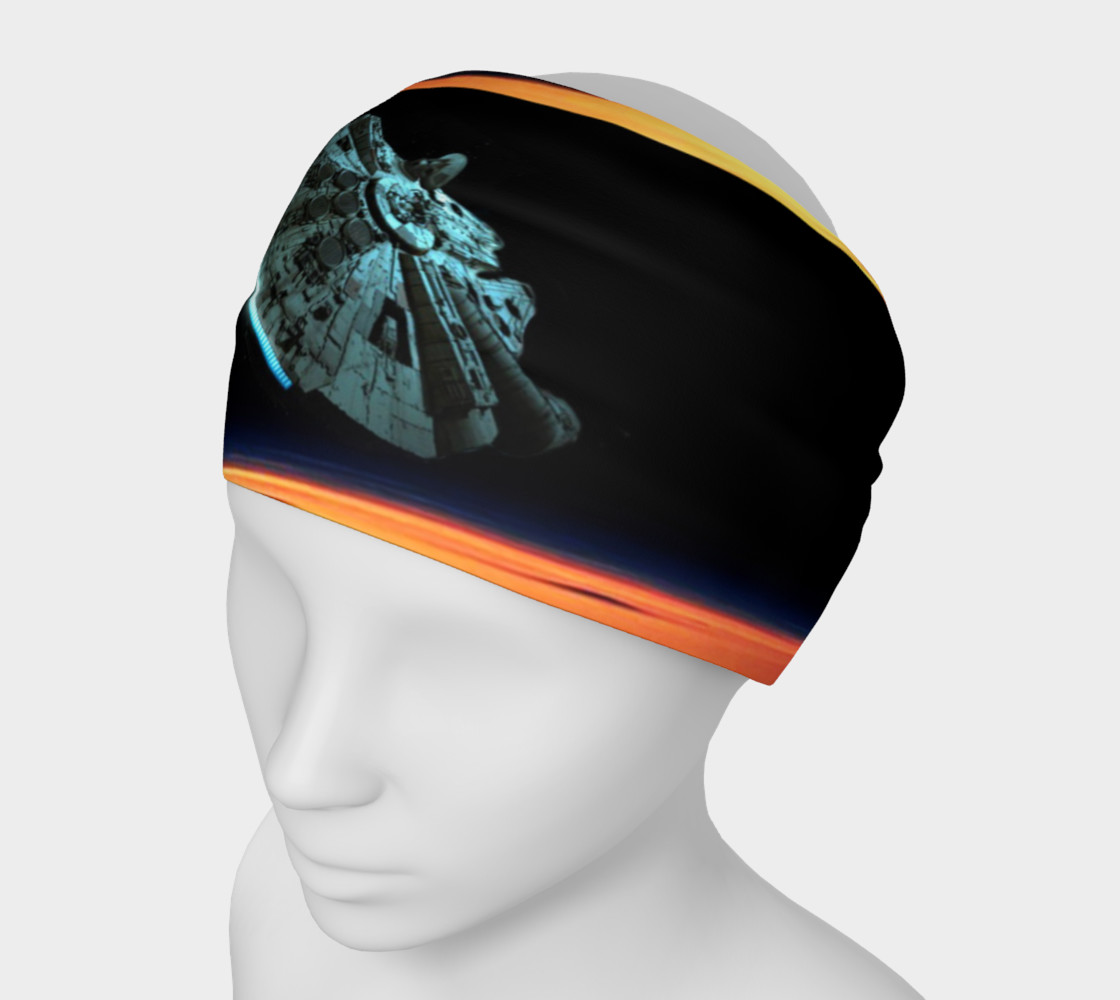 Star Wars spaceship headband 3D preview