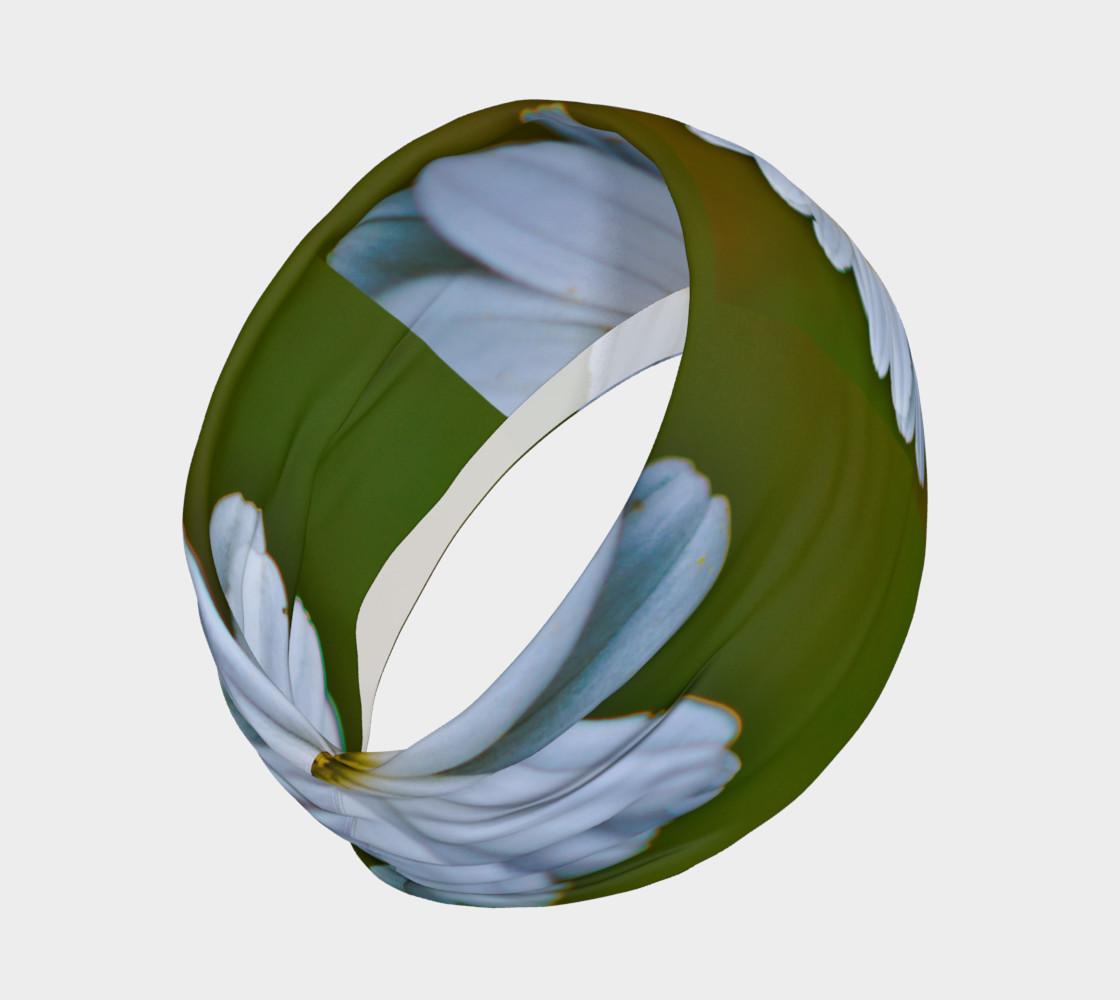 Aperçu de White Daisy Headband #2
