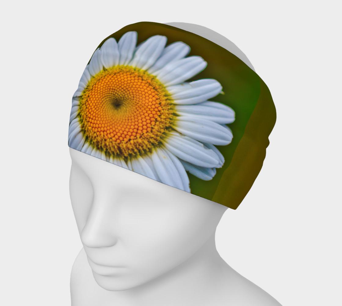 Aperçu de White Daisy Headband #1