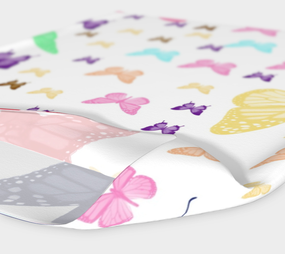 Butterfly Pattern Headband Miniature #5