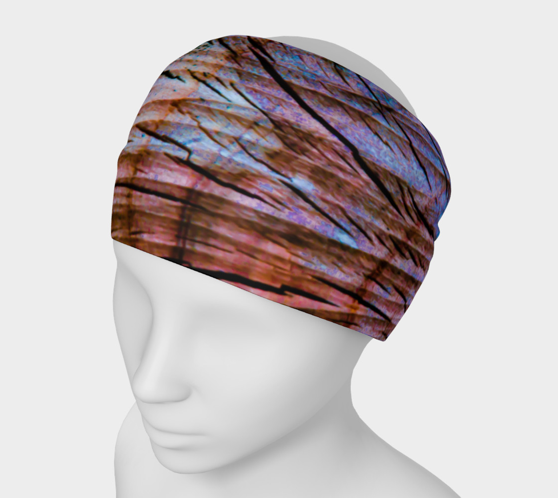 Colorful Aged Wood Headband preview #1